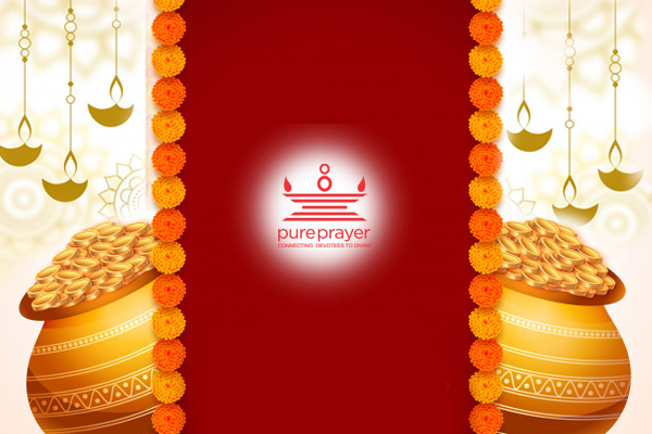 Perform Dhanteras Lakshmi Puja in your tradition with best Vedic Pandits from Pureprayer