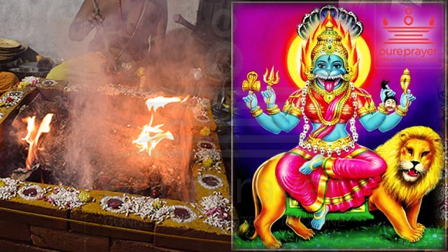 Perform Pratyangira Homam for proetction from witchcraft