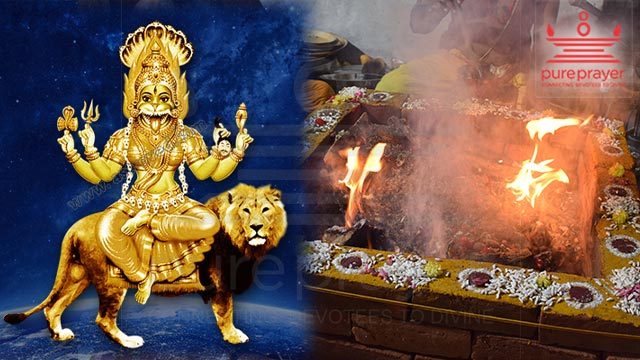 Book the best and meritorious Purohits or Vadhyars from PurePrayer to perform Pratyangira Homam
