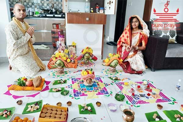 Griha Pratishtha Puja performed by Oriya Pandit from Pureprayer