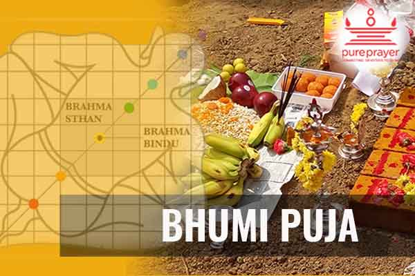 Book best and experienced Vedic Pandits, Purohits, Vadhyars for Bhumi Puja Ceremony