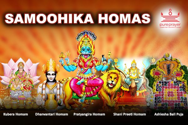 Book and participate in Samoohik Homas Online being organized by PurePrayer