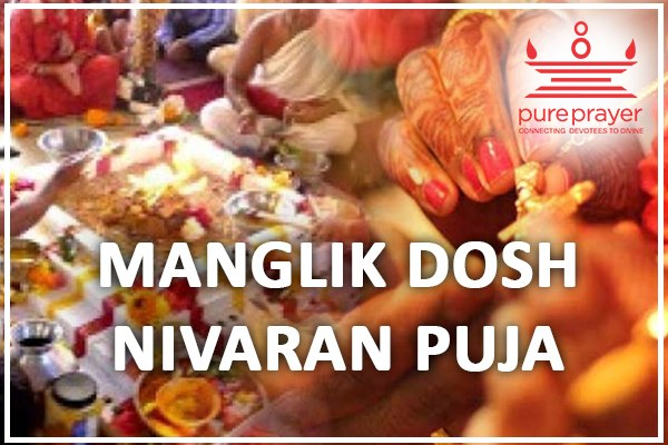 Book and perform the Manglik Dosh Nivaran Pujas in Kshetras, Homa Kuteeras or in your homes with best and experienced Vedic Pandits from PurePrayer
