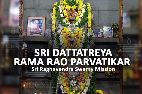 PurePrayer offers Bhakti Namans to Dattatreya Rama Rao Parvatikar on this occasion of his Aradhana