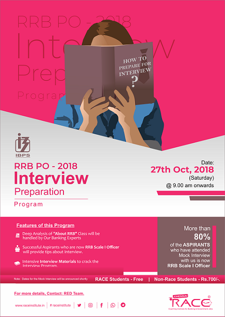 Mock Interview Poster
