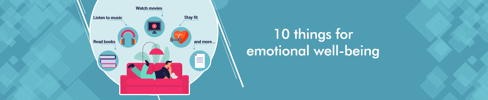 10 things for emotional well-being