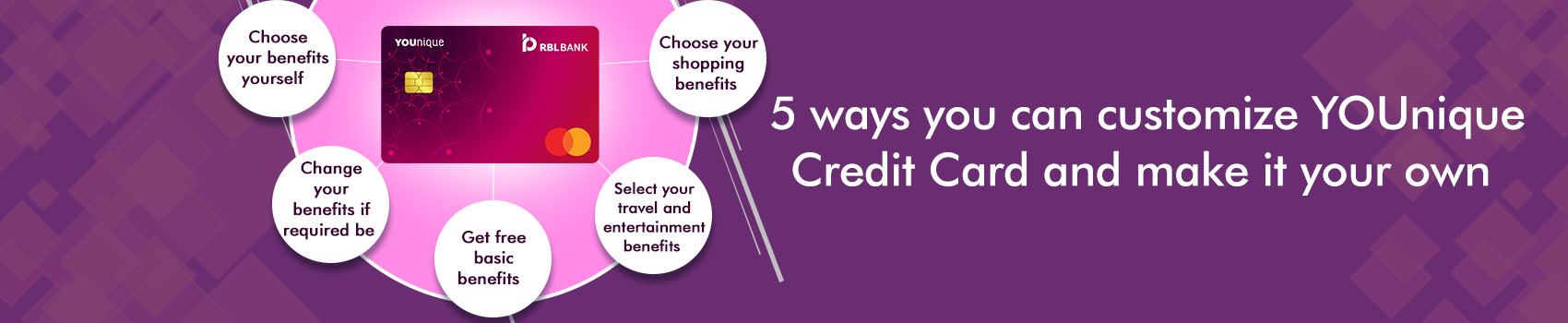 5 ways you can customize YOUnique Credit Card and make it your own
