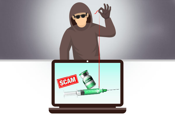 About vaccination phishing scams and how to avoid them