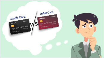 Difference between a Credit Card and a Debit Card