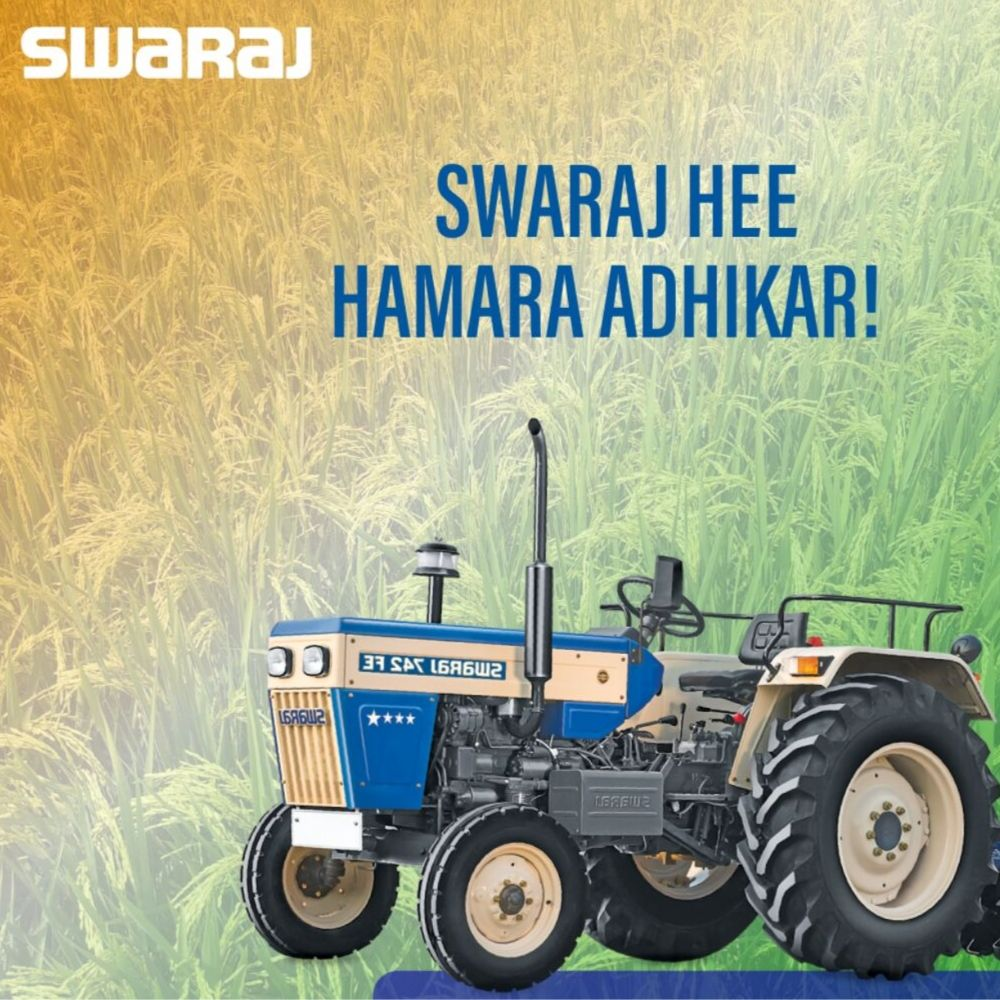 First Launch - Swaraj Tractors
