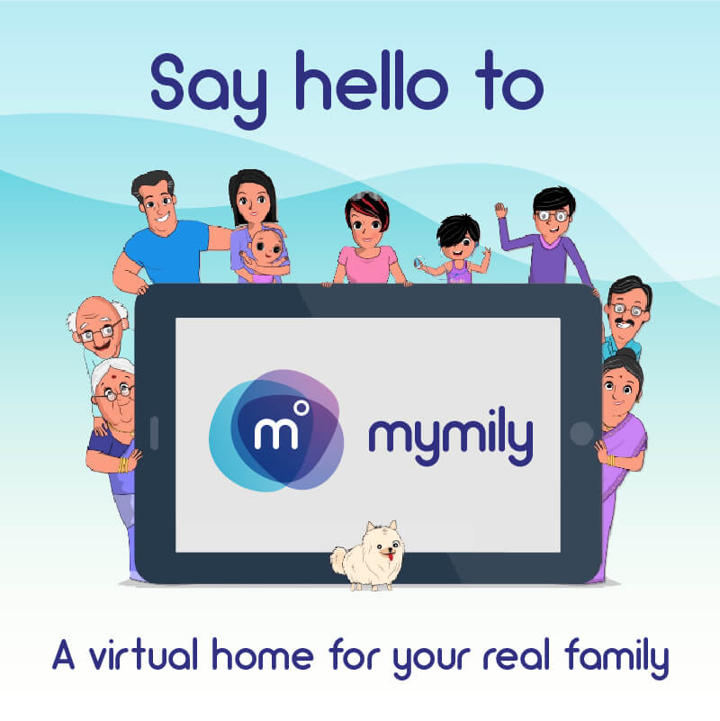 Social Media like Web & Mobile Application for Family