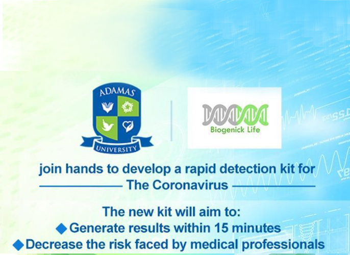 Adamas University signs a MoU with Biogenick Life™