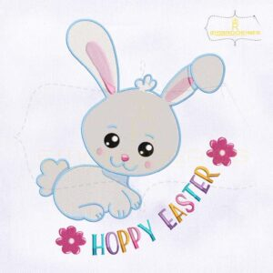Bugs Bunny Hoppy Easter Embroidery Design