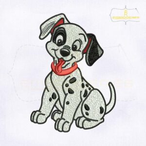 Happy Dalmatians Disney Embroidery Design