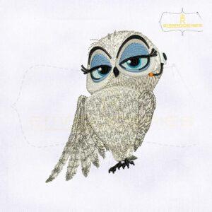 Penguins of Madagascar Eva Embroidery Design