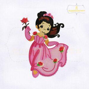 Princesas Preciosos Momentos Embroidery Design