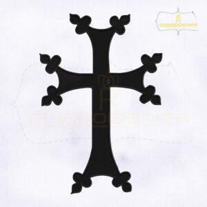Armenian Cross Machine Embroidery Design