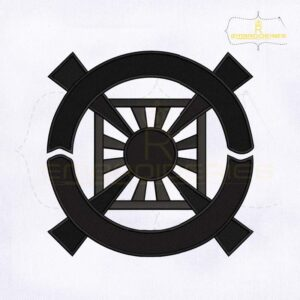 Unification Church Symbol Embroidery Design