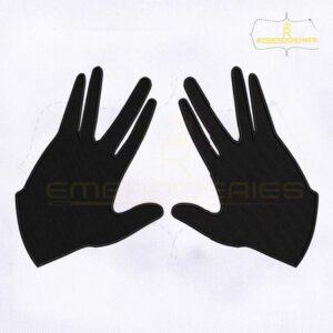 Kohen Hands Machine Embroidery Design