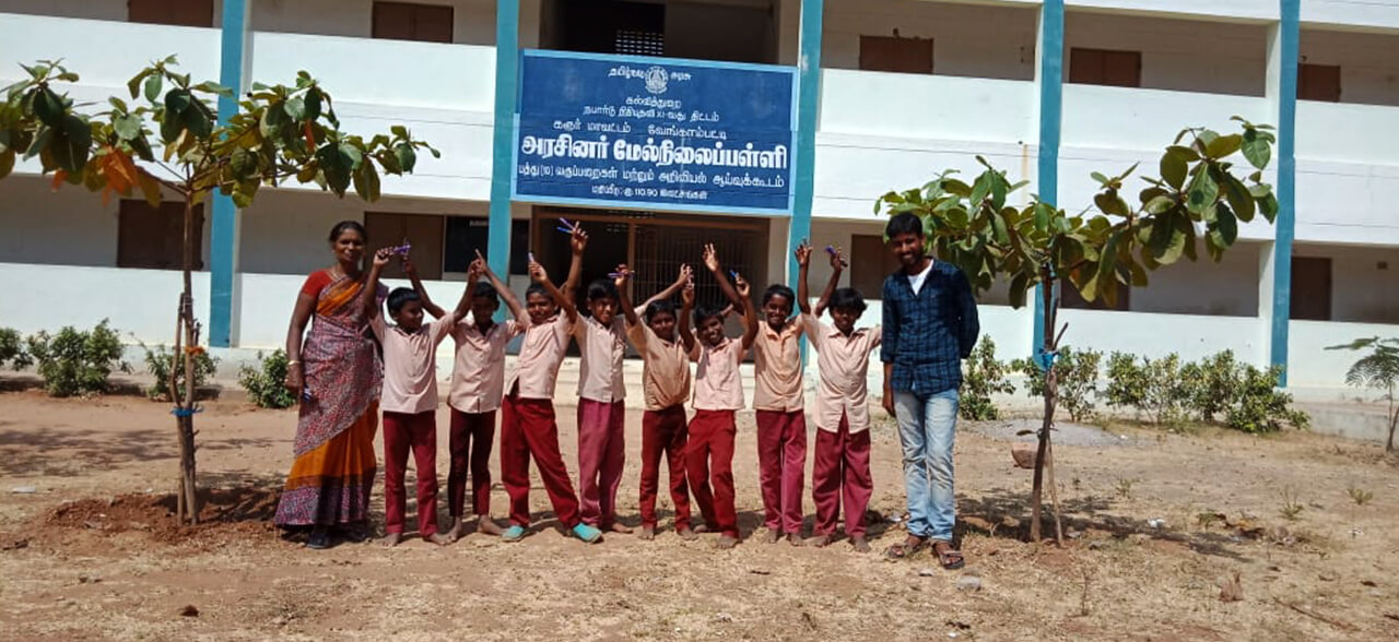 Green and Clean School Plantation