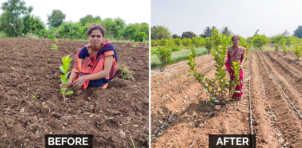 Our Woman Farmer Beneficiary