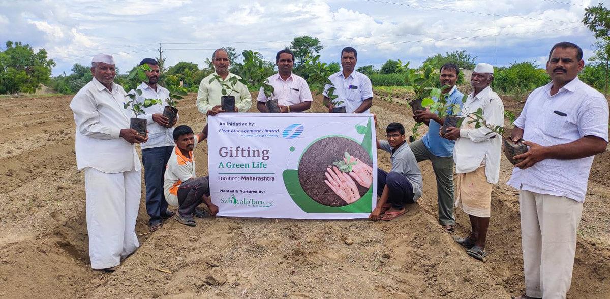 Gifting Green Lives!