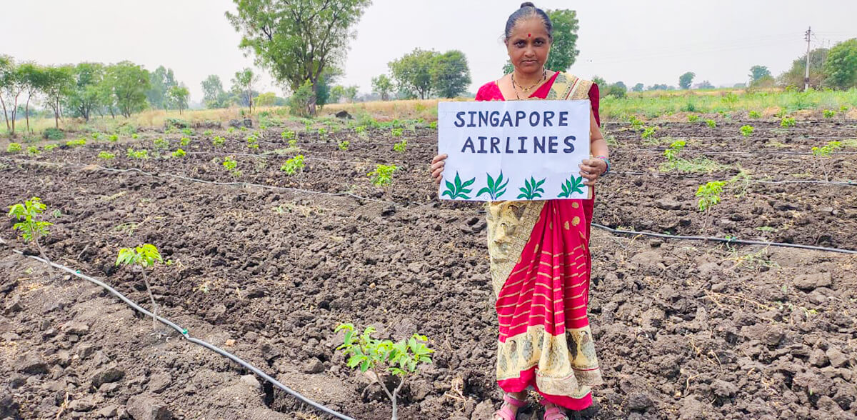 Singapore Airlines Helps our Women Farmers!