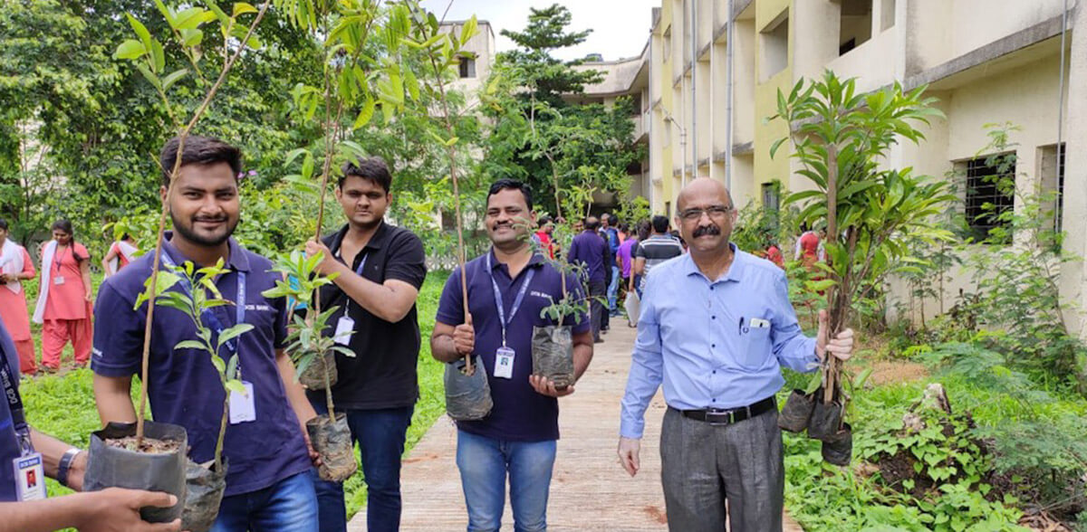 Green and Clean School Plantation Drive