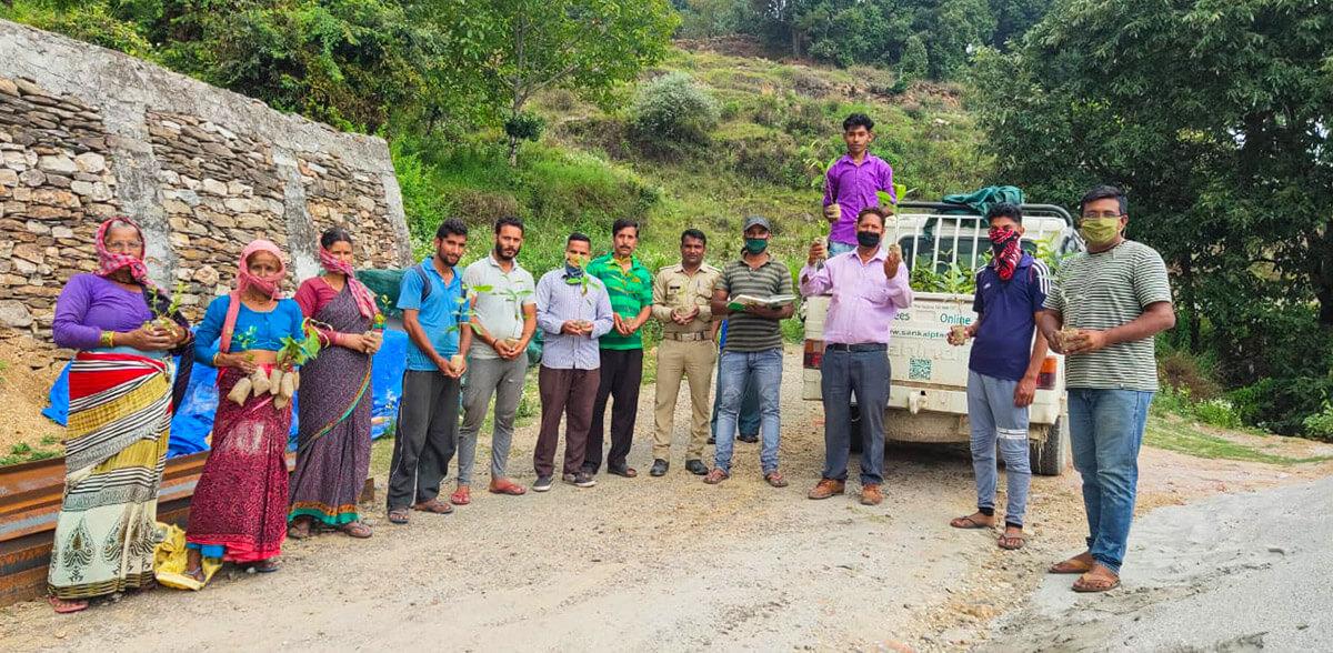 Strengthening Villages of Uttarakhand.
