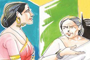 hindi story patjhad ka ant