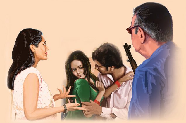 hindi story son in law