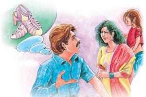 hindi story sandal