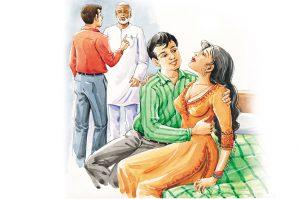 hindi story juhi