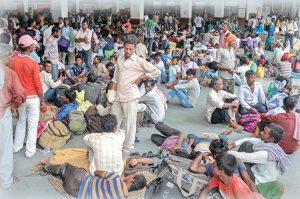 attack on labours in gujrat