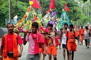 road rage during religious walk
