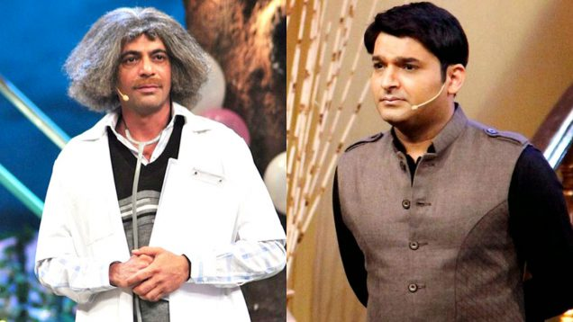sunil on kapil sharma show to promote his movie