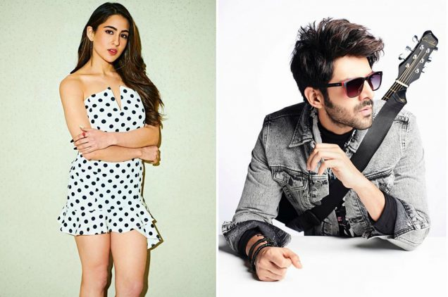 Sara ali khan enjoy bike ride with kartik aaryan In delhi