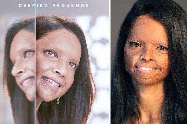 deepika padukone shares chhapaak first look viraldeepika padukone shares chhapaak first look viral