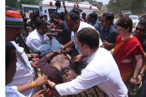 rahul gandhi won hearts of media persons