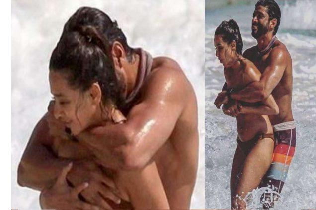farhan and shibani hot photo of mexico beach
