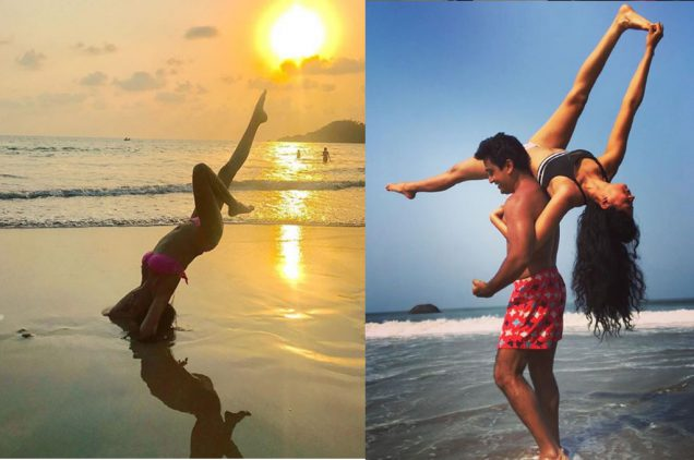 hot workout pics of kavita kaushik
