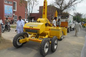 agriculture and farming lazor land leveler