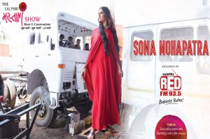 93.5RED FM launched its new weekly show 'Lal Pari Mastani'that will be hosted by renowned singer Sona Mohapatra