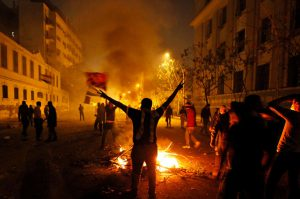 editorial riots in country