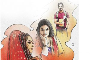 hindi story mehandi lagi mere hath