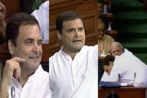 rahul gandhi winked