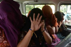 social human trafficking