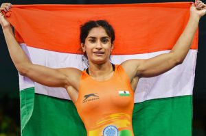 Vinesh Phogat is First women wrestler to win gold medal in asian games