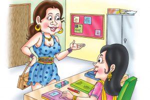 hindi story main jhuth nahi bolti