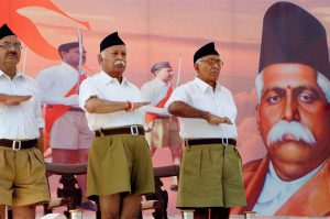 modi government ministers reports to mohan bhagwat rss